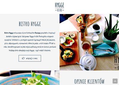 Catering – strona wordpress – projektowanie