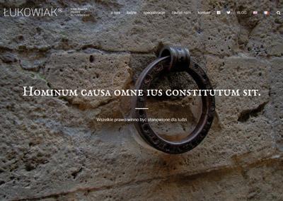 Strona internetowa dla kancelarii