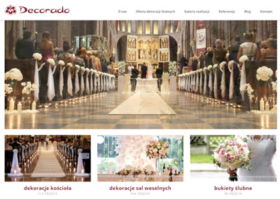 Decorado – strona w wordpress